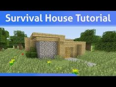 Small Survival House Tutorial Minecraft Xbox 360/PS3 - YouTube
