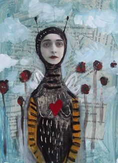 ⌼ Artistic Assemblages ⌼ Mixed Media & Collage Art - Felicia Olin