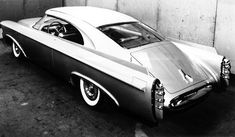 1956 Chrysler Norseman: The Norseman was a concept car built by the Italian styling house of Ghia that demonstrated the feasibility of several unique styling features like a near free-standing hard top. Ghia understandably chose a fine Italian ocean liner to deliver the Norseman. Sadly, it was the ill-fated Andrea Doria, which sank off the coast of Massachusetts.