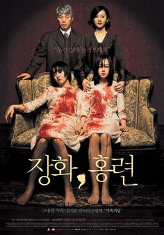Tale of two sisters - Two sisters who, after spending time in a mental institution, return to the home of their father and cruel stepmother. Once there, in addition to dealing with their stepmother's obsessive and unbalanced ways, an interfering ghost also affects their recovery