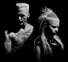 Die Antwoord: true originals, creative, fearless, with the will to be weird
