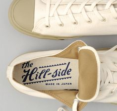 Low Top Sneakers, Natural Duck Canvas