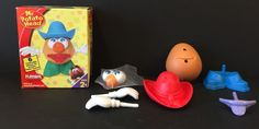 Mini Playskool Mister Potato Head 6 Piece Playset With Box    eBay
