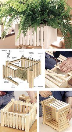 43 fantastiche immagini su arredi da giardino fai da te for Staccionata in legno brico