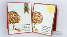 Pals Paper Crafting Card Ideas Lighthearted Leaves Mary Fish Stampin Pretty StampinUp