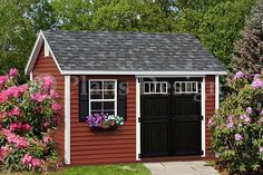 10' x 12' Reverse Gable Shed Plans,Free Material List #D1012G