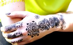 Instant Henna Temporary Tattoos by Inkweartattoos on Etsy