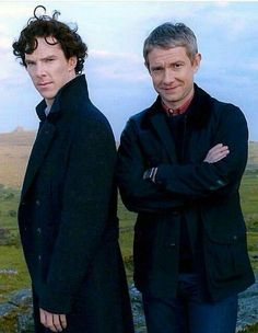 Obviously the ground Martin is standing on is higher than that which Benedict is standing on