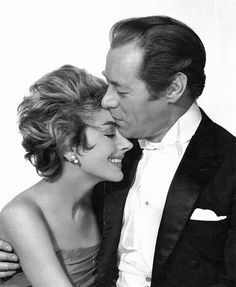 Kay Kendall & Rex Harrison  The beautiful and much loved wife struck down in her prime-too soon............
