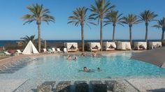 Hard Rock Hotel Ibiza Hard Rock Hotel Ibiza, Marina Bay Sands, Building, Outdoor Decor, Travel, Viajes, Buildings, Destinations, Traveling