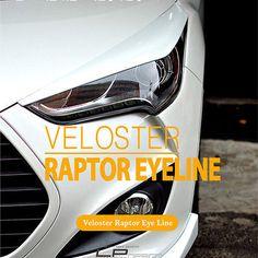 LordPower Design Raptor Eyeline Eyelid Kit for Hyundai Veloster Turbo & NAV(N/A)