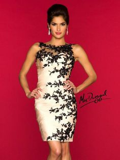 Mac Duggal: Short cocktail dress | GGM - Glamour Gowns and More