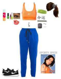 """Sporty spice- Mel C"" by candylandy-1 ❤ liked on Polyvore featuring art, SpiceGirls, MelC and chav"