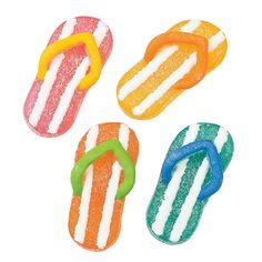 Flip Flop Jelly Candy - OrientalTrading.com