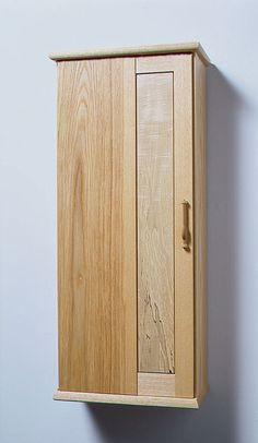 Krenov built the teak and oak cabinet in 1989