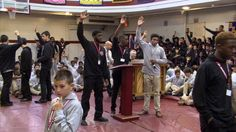 Our most recent Blog Post on student leadership at St. Benedict's Prep School!