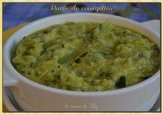 Purée de courgettes au parmesan http://www.supermomix.com/accompagnements/puree-courgettes-parmesan/