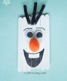 Lekker met de kinderen knutselen in de kerstvakantie. De leukste kerst knutsels die je kunt maken met ijs stokjes!