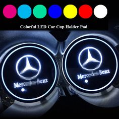 Nice Amazing 2PCS LED Car Cup Holder Pad Mat for Mercedes-benz Auto Interior Atmosphere Light 2017 2018 Check more at http://24go.ml/mercedes/amazing-2pcs-led-car-cup-holder-pad-mat-for-mercedes-benz-auto-interior-atmosphere-light-2017-2018/