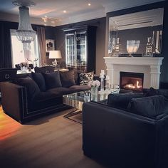 """Obtain excellent pointers on """"home decor ideas living room"""". They are actually offered for you on our site. Glam Living Room, Living Room Decor Cozy, Home And Living, Home Design Decor, House Design, Interior Design, Design Ideas, Living Room Inspiration, Home Decor Inspiration"""