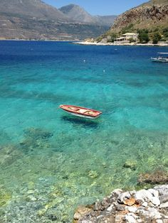 Mani, Peloponnese, Greece. Yes! there are beaches like this even in the mainland!
