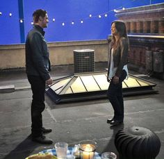 Beauty & the Beast . TV Show . Jay Ryan and Kristin Kreuk as Vincent Keller and Catherine Chandler Vincent Keller, Catherine Chandler, Jay Bunyan, Beauty And The Beat, Kristin Kreuk, Scene Photo, Series Movies, Tv Series, Great Stories