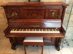 Ancien vase obus cuivre travail de poilu 1914 1918 d cor floral ebay anti - Comment demenager un piano droit ...