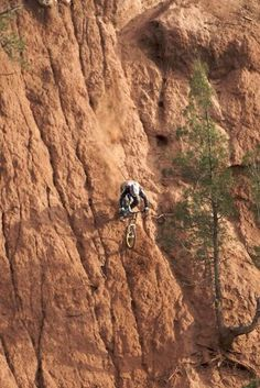 Balance a bike right and it will go almost anywhere #bikelife