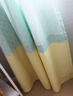 DIY: Window Panels - #DIY #nursery #homedecor