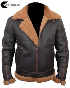 Men's Brand - Special Stuff for men's warm and soft. Sheep and goat skins