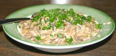 Enjoy this Polish Sauteed Wild Mushrooms recipe. You can use it as a side dish or as a topping for any meat. Polish Recipes, Top Recipes, Great Recipes, Cooking Recipes, Polish Food, Wild Mushrooms, Stuffed Mushrooms, Stuffed Peppers, Czech Recipes
