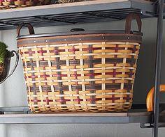 Signature Plaid Large Organizer Basket-12538 I love this basket…  Maybe my next purchase