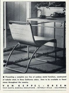 Van Keppel-Green Ad in Arts & Architecture Magazine, September 1946