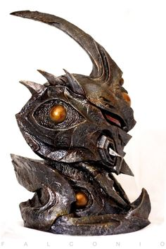 Guyver III Head by AngeloFalconio.deviantart.com on @deviantART