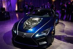 Probably one of hottest cars at #CAS18 - check out the #blackpanther car by @lexususa #marvel #fb #disney #Instacas #steelmatters  #whatdriveshercas #girlsrockcas
