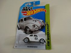 Hot Wheels HW Workshop Herbie The Love Bug Volkswagen Beetle #HotWheels #Volkswagen