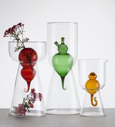 Beautiful Glass Object Accessories by Fabrica for Secondome