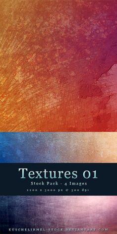 Textures 01 - Stock Pack by *kuschelirmel-stock on deviantART