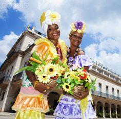 Flower Ladies, Havana. Cuba