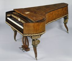 Joseph Böhm (Austrian, 1786–ca.1850). Grand piano, ca. 1815–20. Wood, various materials. The Metropolitan Museum of Art, New York, Purchase, Rogers Fund; Mr. and Mrs. Thatcher M. Brown III, Mr. and Mrs. Philip J. Hess, Carroll Music Instrument Service Corp., The New York Flute Club Inc. and Piano Technicians; Guild Gifts; Gifts of Mrs. Etta M Helmer, Alice Getty, Mr. and Mrs. Henry Wellman, Mr. and Mrs. Peter M. F. Sichel, Craig E. Steese, Hilda Katz, Mr. and Mrs. Arthur A. Travis, and The…