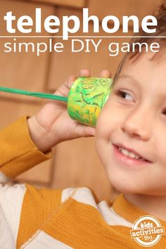 Super Simple Listening Game and Craft for Kids