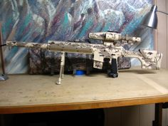I want this paintball gun...