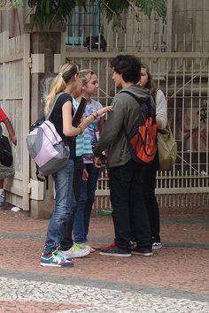 Jovens de Porto Alegre, Rio Grande do Sul, Brasil