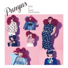 PUNYUS 2015ss カタログ AD:吉田ユニ ph:間仲宇 st:相澤樹 Fashion Story, Fashion Art, Editorial Fashion, Booklet Design, Design Girl, Illustrations And Posters, Paper Design, Summer Collection, Art Direction