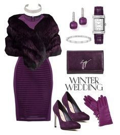 """Winter Wedding"" by rossie-rz ❤ liked on Polyvore featuring Via Spiga, Jaeger-LeCoultre, Pomellato, Anne Sisteron, Giuseppe Zanotti, French Connection, Gorski and Alexis Bittar"