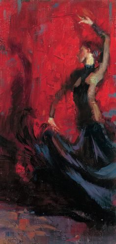 Henry Asencio, ( born 1971 in Los Angeles ~ Americab Abstract impressionistic Expressionists painter )