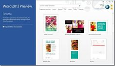 New Features Of Microsoft Word 2013