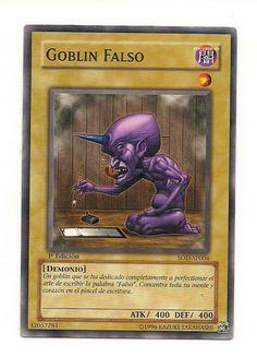 Goblin Falso SOD-SP004 Konami Yu Gi Oh 1st Edition Card Free U S Shipping SJG