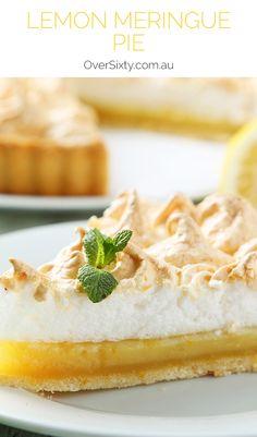 Lemon Meringue Pie - Tangy, sweet, and flaky, this lemon meringue pie checks all of your dessert boxes.
