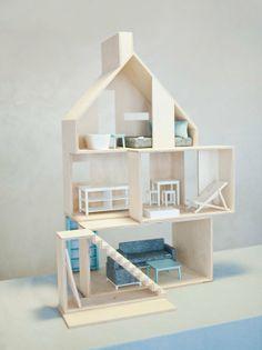 500,000원/ 폴란드(1499,00 PLN) Mini WOOD wraz z wyposażeniem - Domki dla lalek